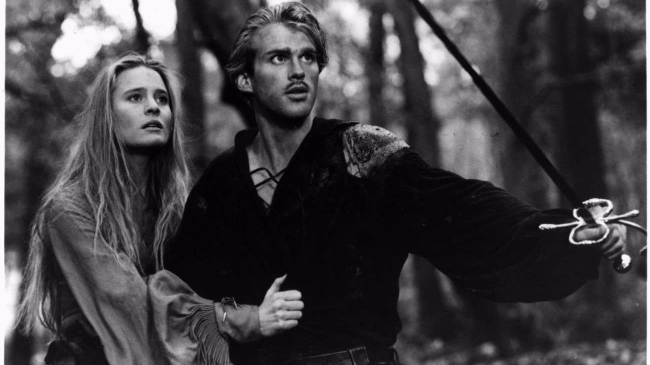 "Robin Wright and Cary Elwes in ""The Princess Bride."""