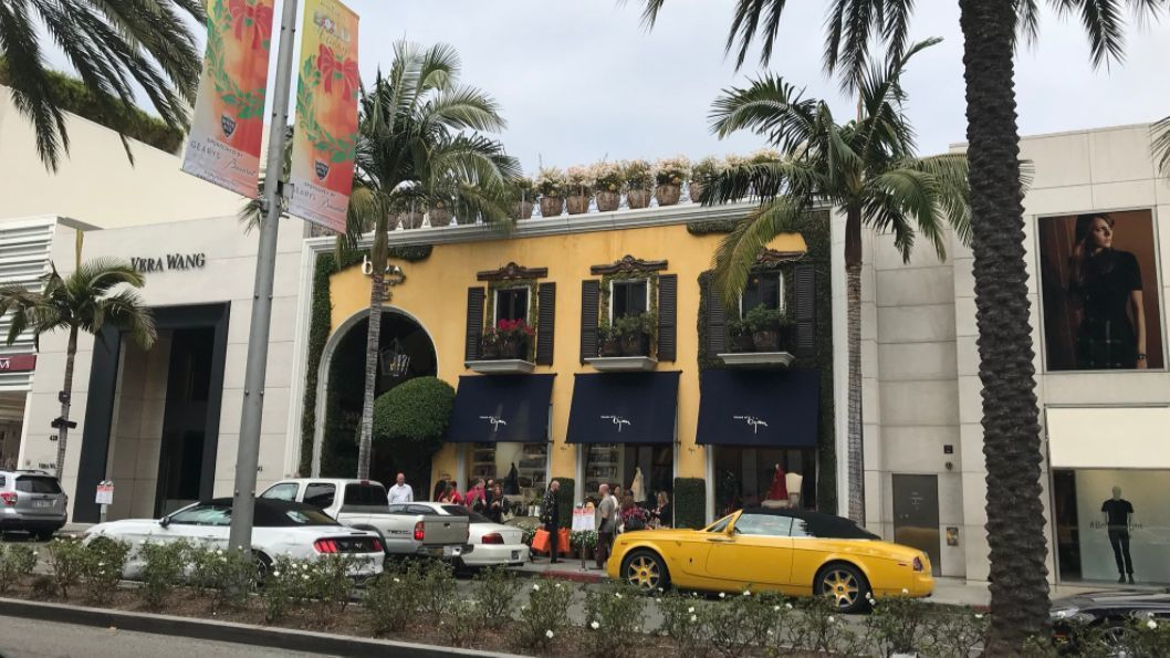 A manager at Bijan on Rodeo Drive declined to comment on speculation that President Trump's former aide Paul Manafort shopped there.