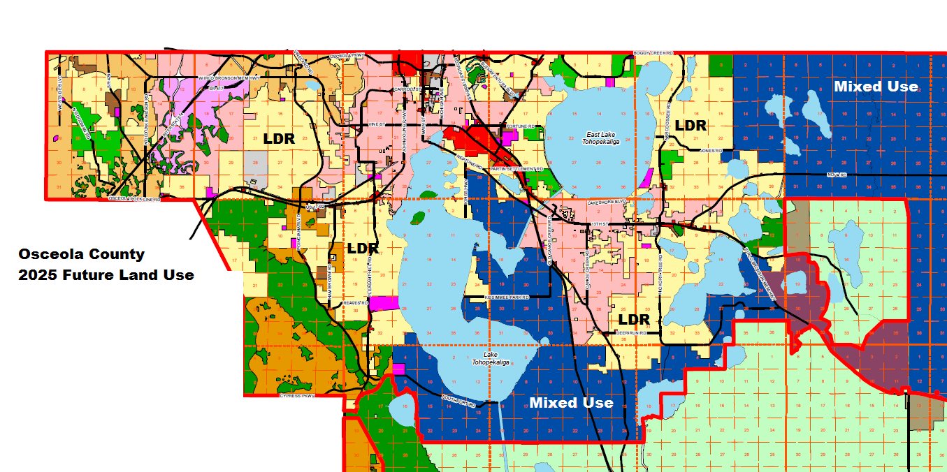 Osceola County Zoning Map Osceola to exempt CRE & affordable housing in planned moratorium
