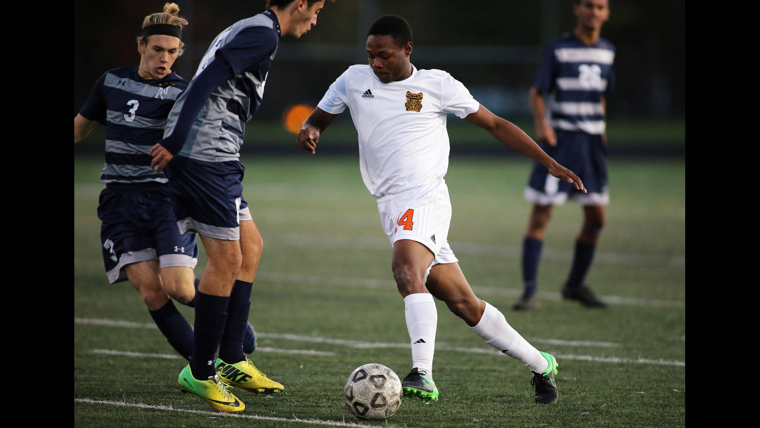 42c2e1b47 Oakland Mills boys soccer tops Marriotts Ridge to advance to sectional  final - Howard County Times