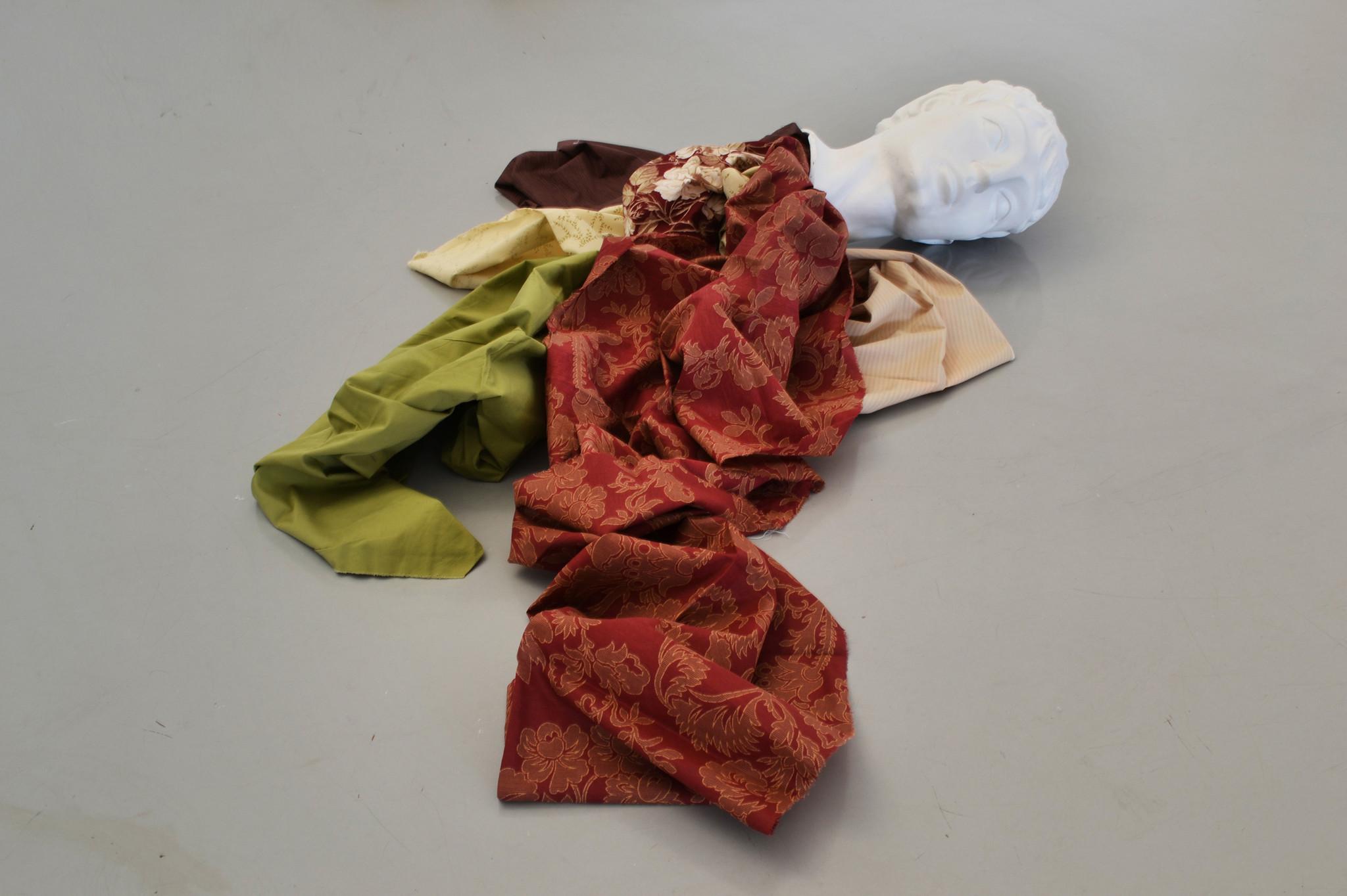 """""""Decapitados: una decoración para nuestro tiempo,"""" 2011, by Cynthia Gutiérrez at Kohn Gallery."""