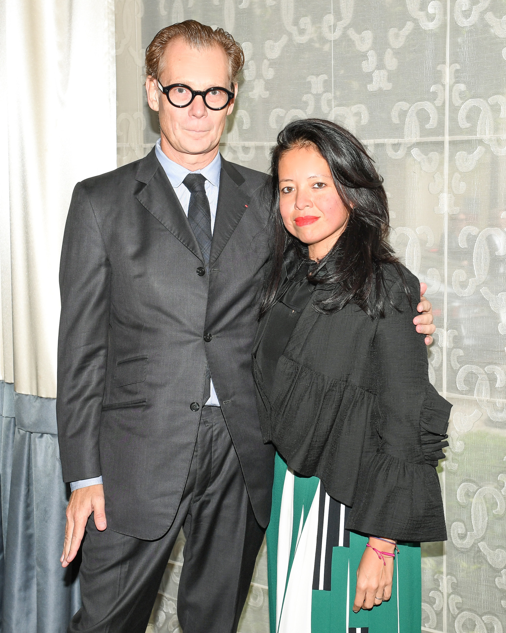 MOCA director Philippe Vergne and his wife, Sylvia Chivaratanond, at the MOCA luncheon on Nov. 1 at the Beverly Wilshire Hotel in Beverly Hills.