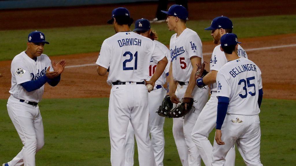 Here's what the Dodgers roster looks like after this