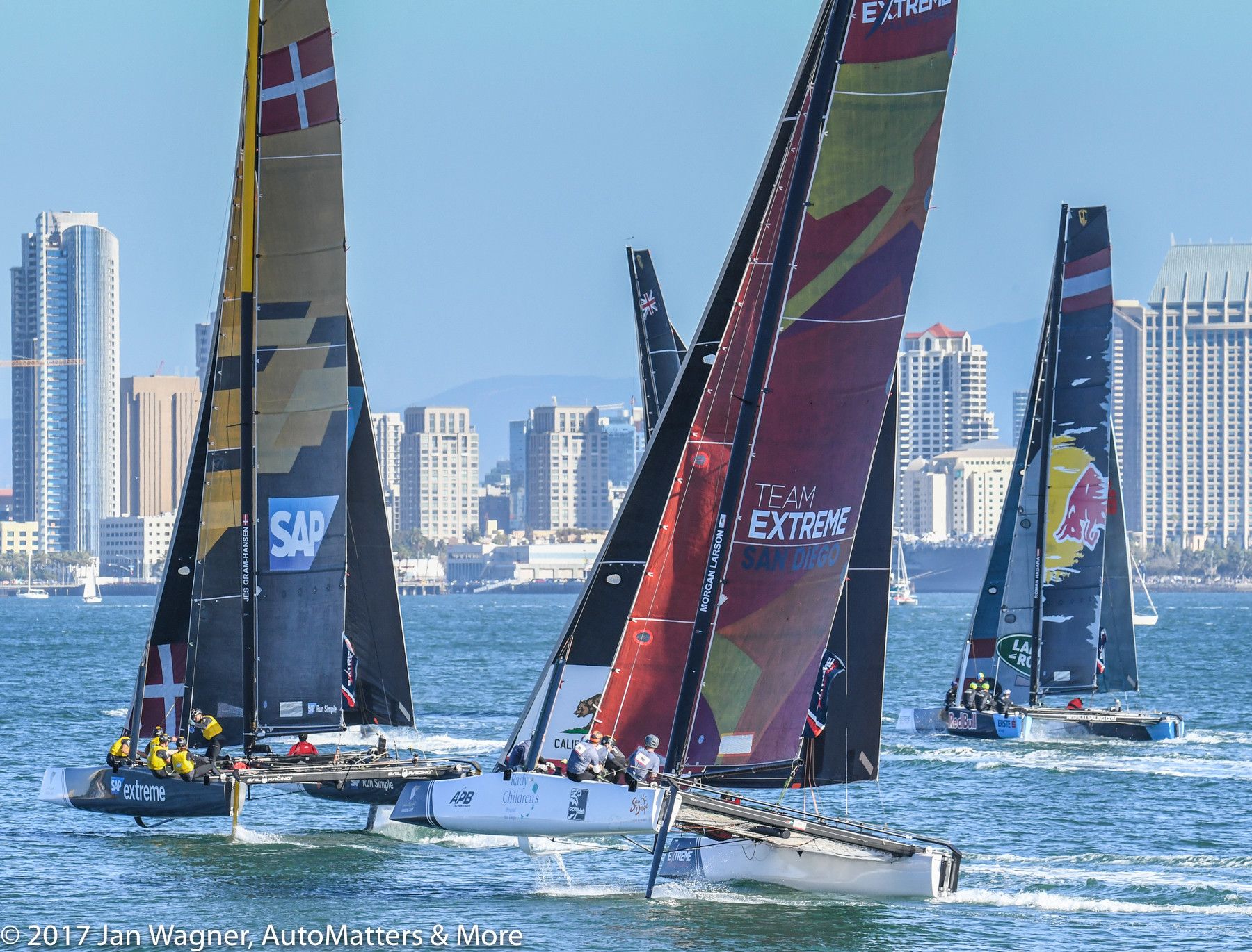 Extreme Sailing Series – San Diego