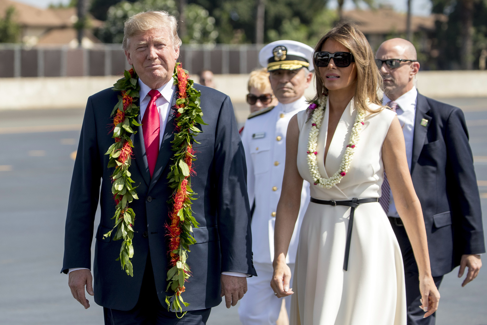 cf95e7c5acf48 Trump visits Pearl Harbor as security and trade loom large on first Asia  trip. Donald Trump ...