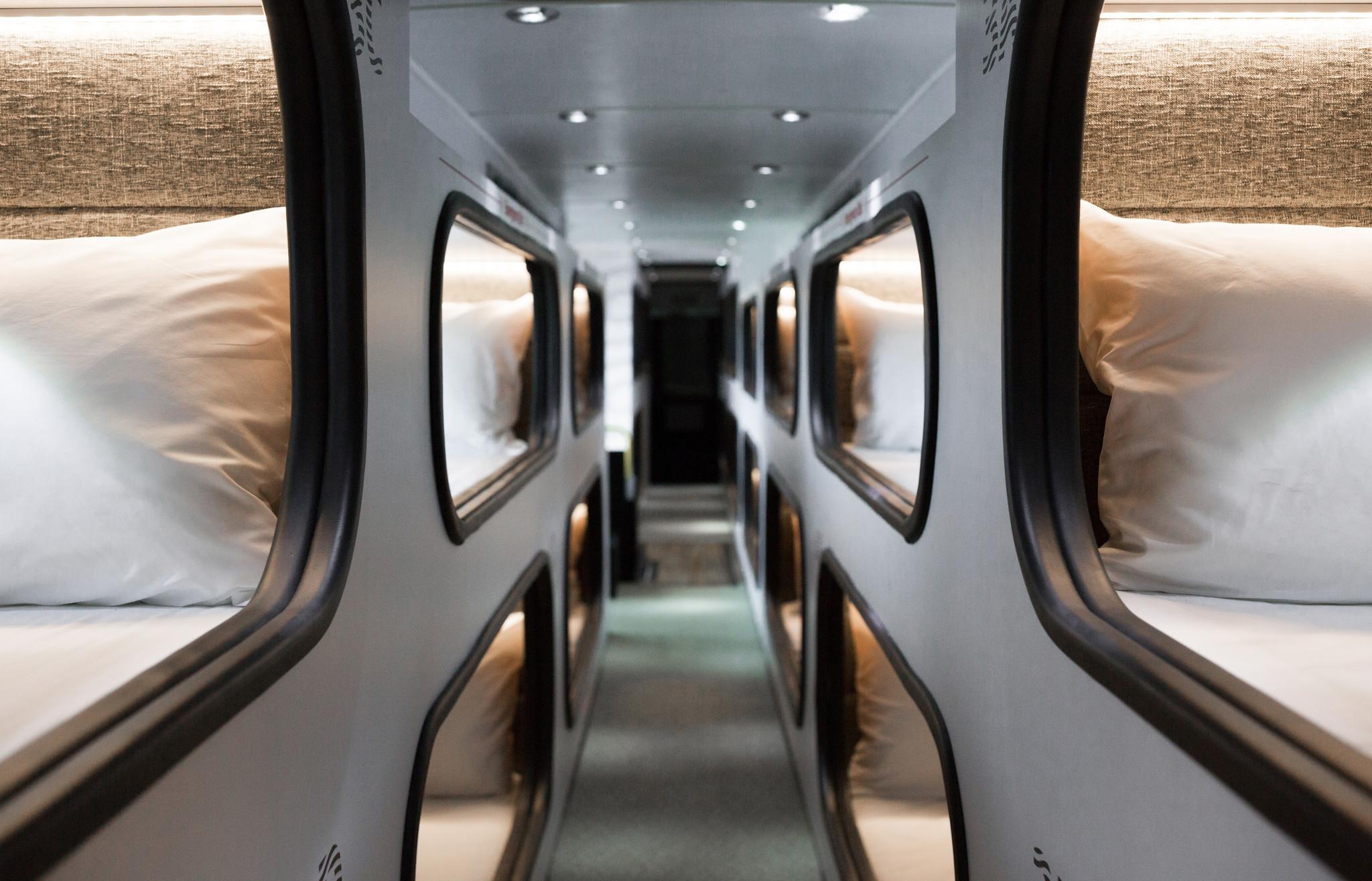 This Cushy La To San Francisco Bus Lets You Sleep