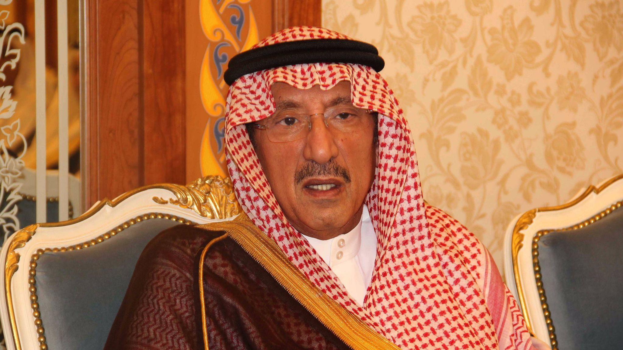 Saudi Arabian Prince Mutaib
