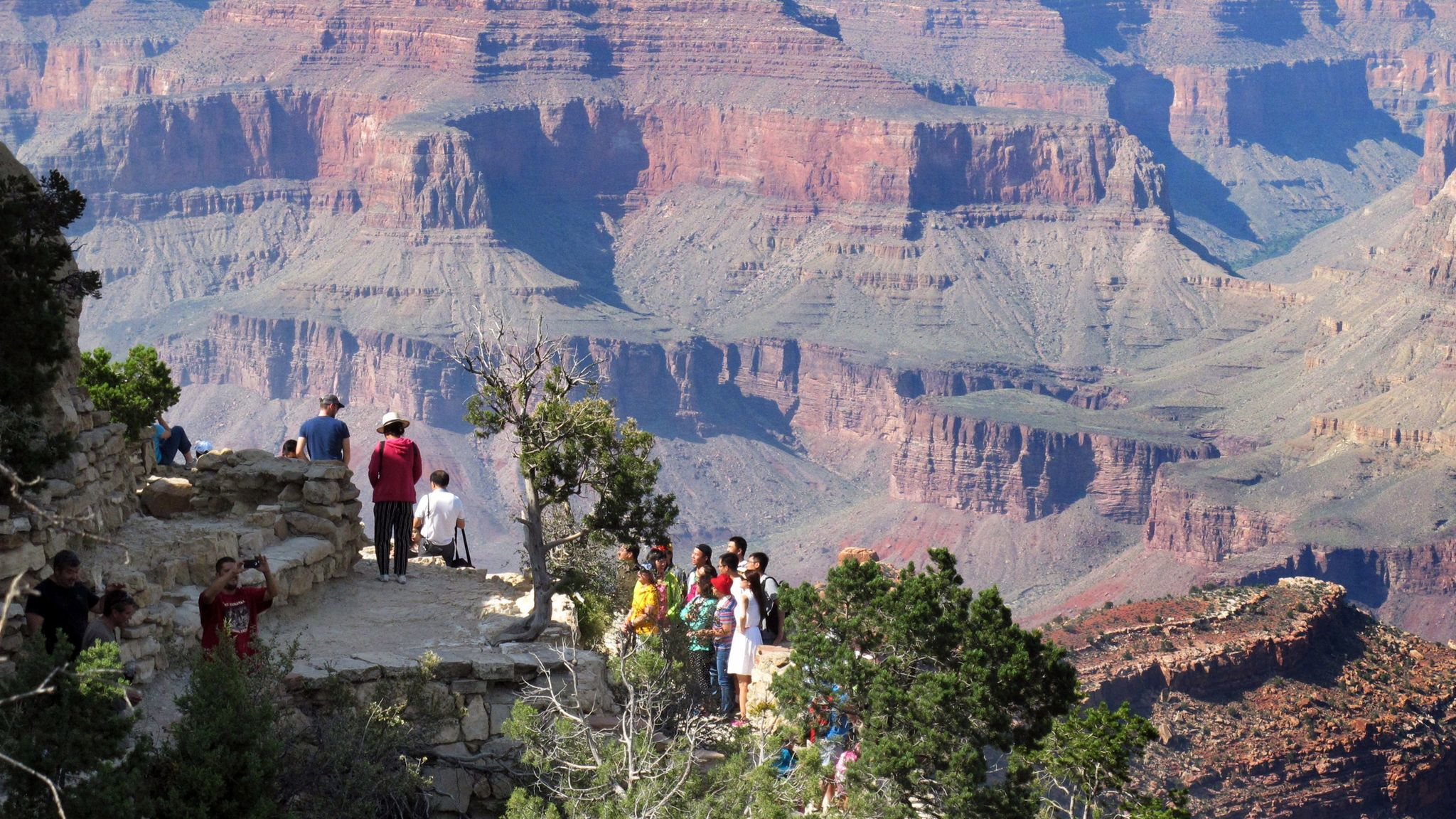 Entry to national parks such as Arizona's Grand Canyon is free this weekend in honor of Veterans Day.