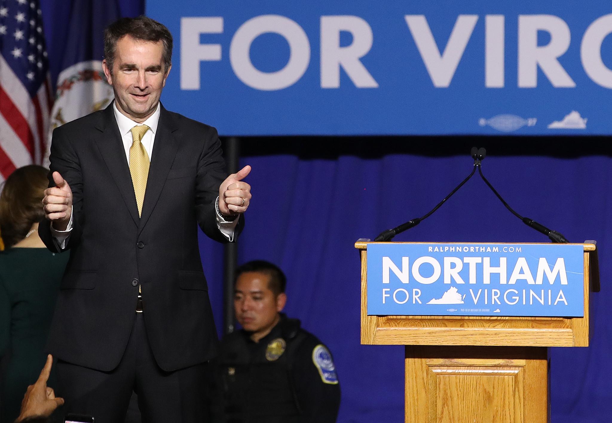 In Virginia, Democrat Northam wins race for governor ...