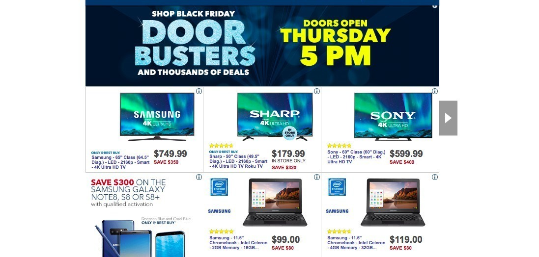 When does best buy open black friday