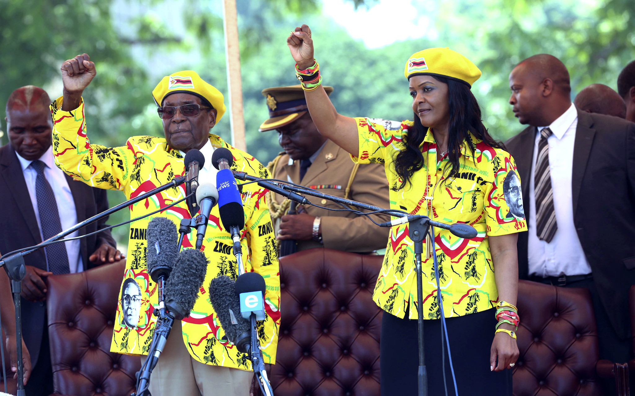 Latest On VP Chiwengas Wife, Marry: More Charges Emerge