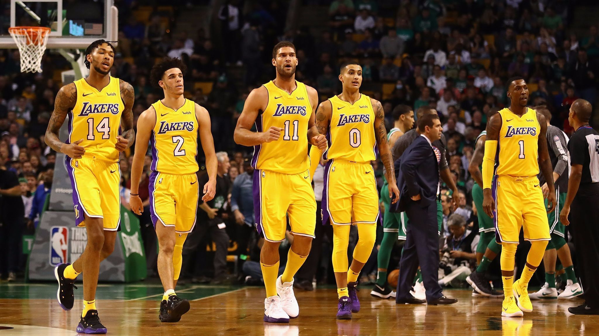 Five takeaways from the Lakers 107-96 loss to the Boston ...