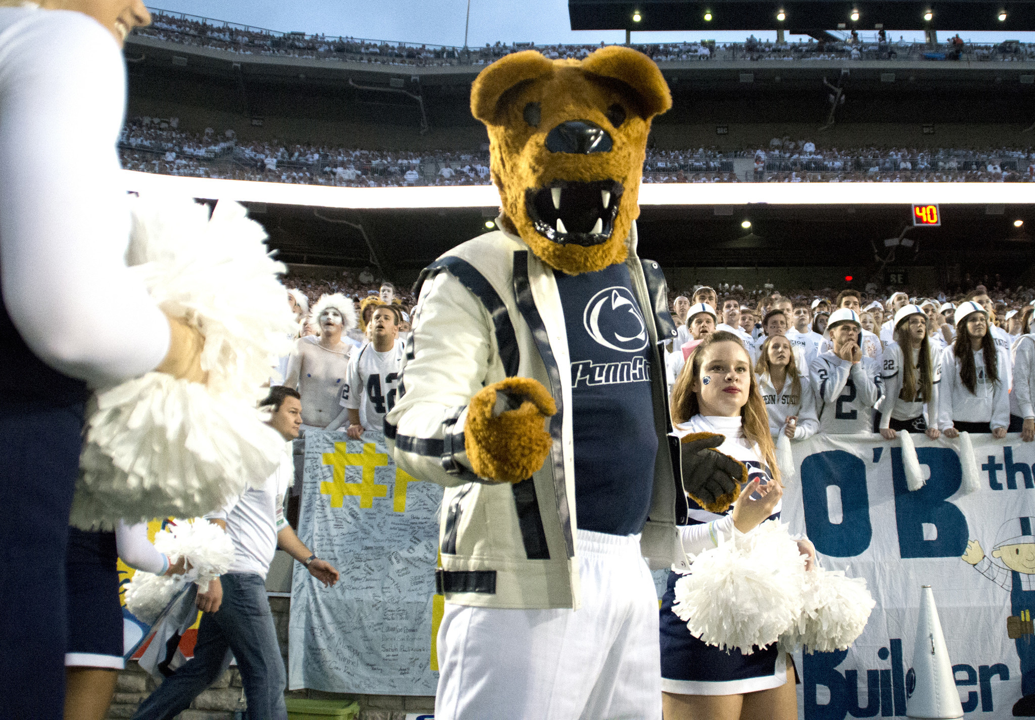 Penn State mascots reunite! The Nittany Lion is in the Mascot Hall of Fame - The Morning Call  sc 1 st  The Morning Call & Penn State mascots reunite! The Nittany Lion is in the Mascot Hall ...