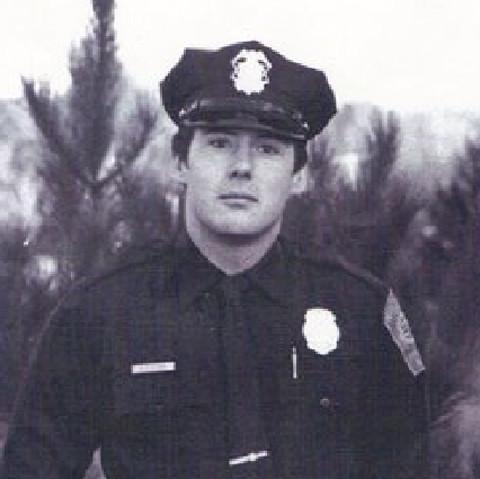 Barry Cronin in uniform.