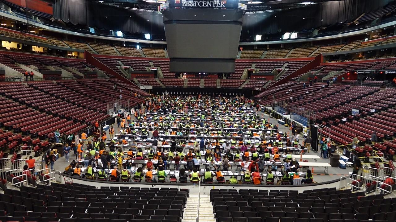 Hurricane Irma Food Aid Program Ends Today At Bb T Center Hard Rock