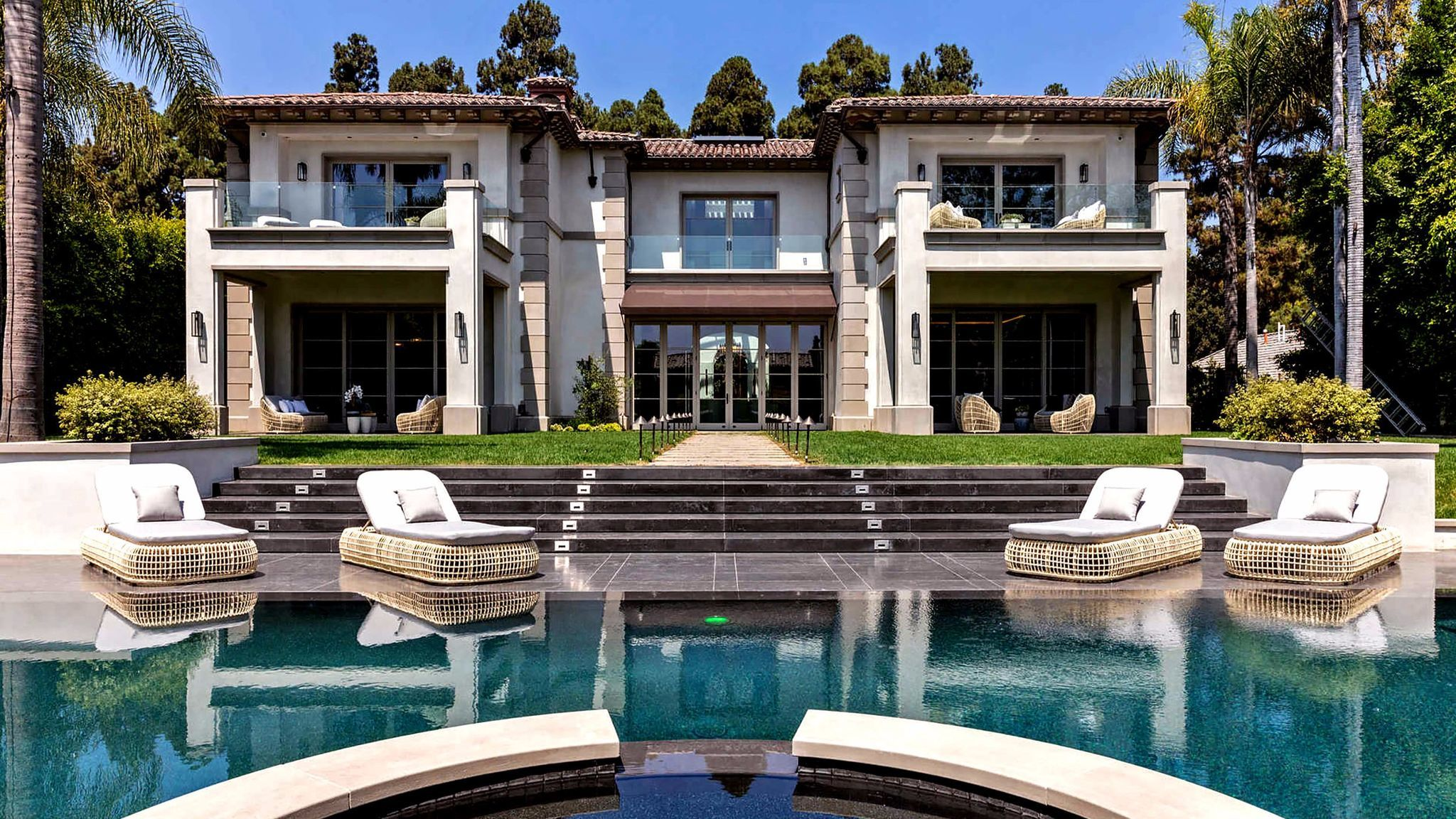 A newly built mansion on Lexington Drive in Beverly Hills sold for $26.75 million.
