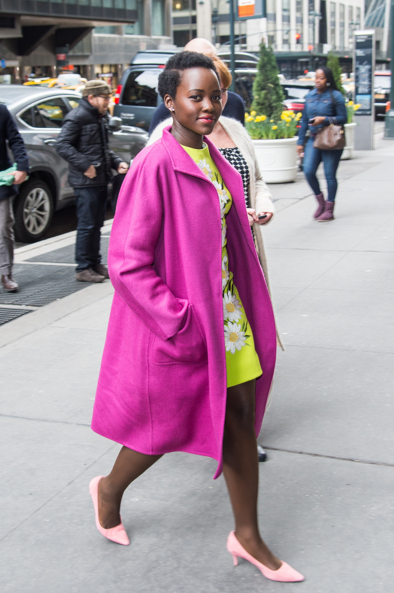An image of actress Lupita Nyong'o wearing a Max Mara coat to Variety's Power of Women New York luncheon in April 2016 will be among those shown in the upcoming Max Mara photo exhibition.