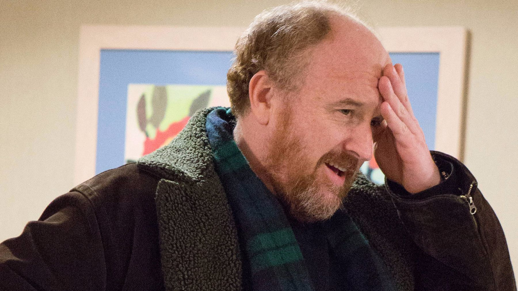 "Louis C.K. in ""Louie."""
