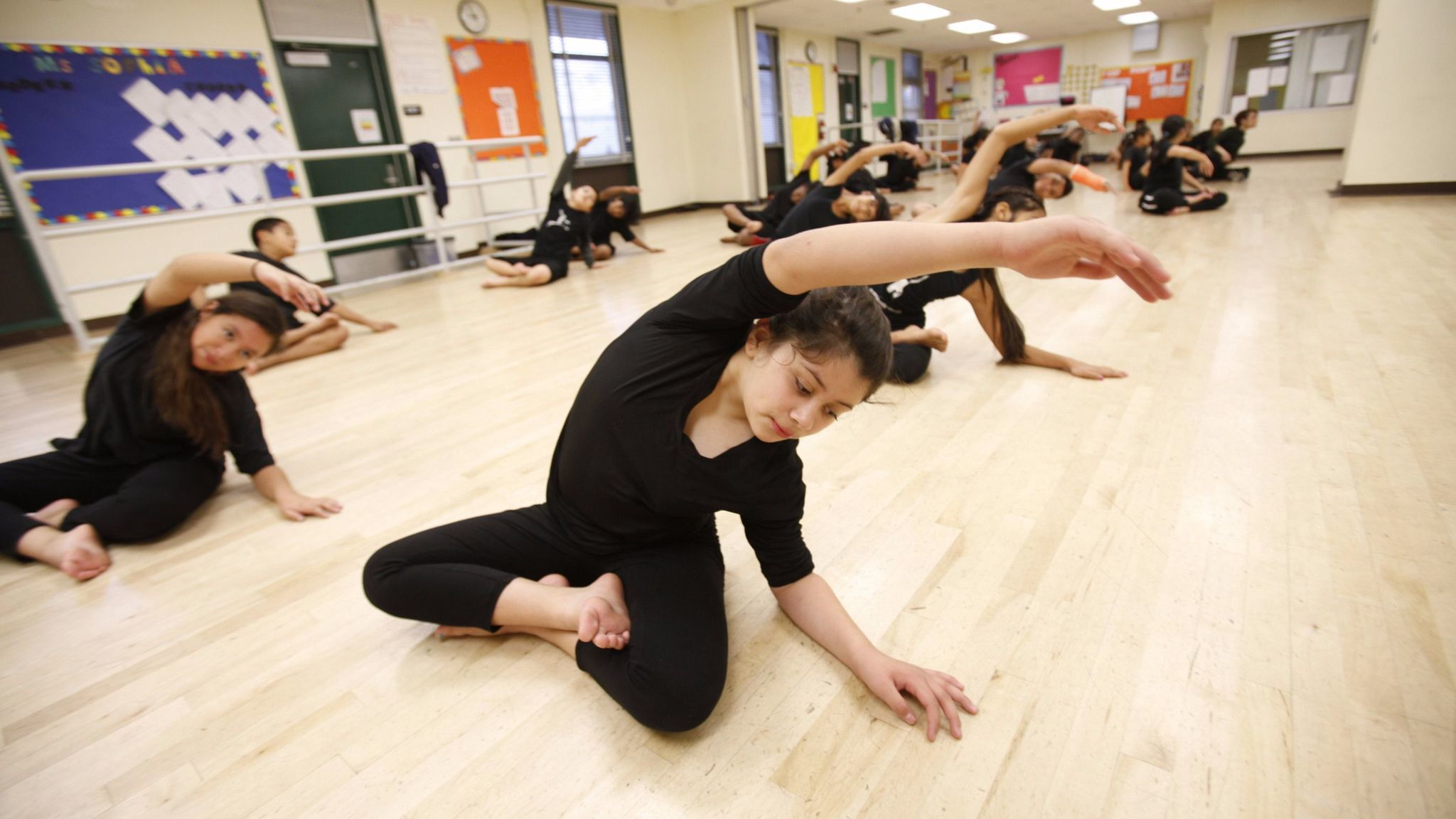 Charter school leaders hope changes to L.A. Unified's rules will result in long-term leases for charters on district property, like the one for dance-focused Gabriella Charter School at Logan Elementary in Echo Park.