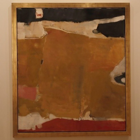 "Richard Diebenkorn, ""Albuquerque,"" 1952, oil on canvas"