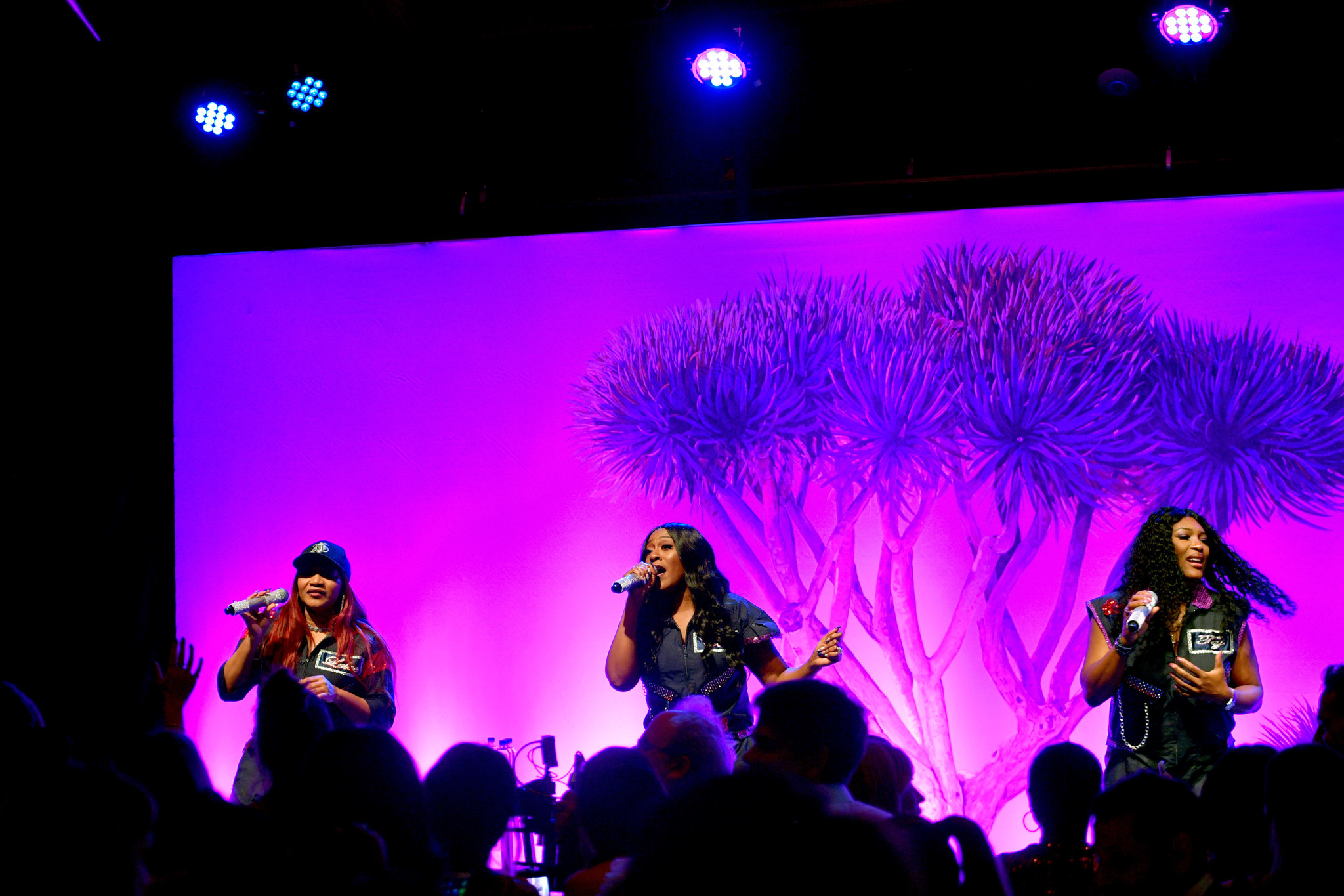 Music group SWV performs during the Baby2Baby Gala.