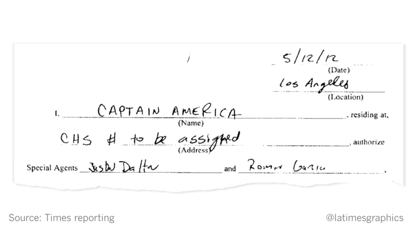 The FBI called him 'Captain America ' But the informant had