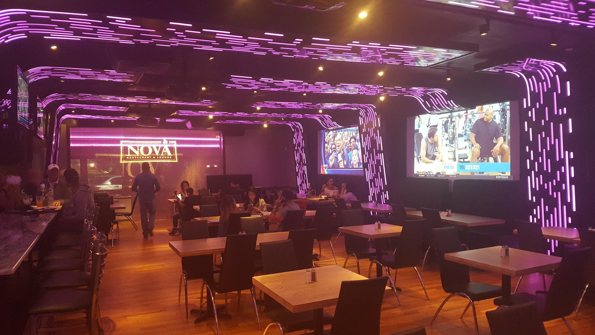 Nova Restaurant Lounge Opens At Former Okis Spot In South Allentown The Morning Call