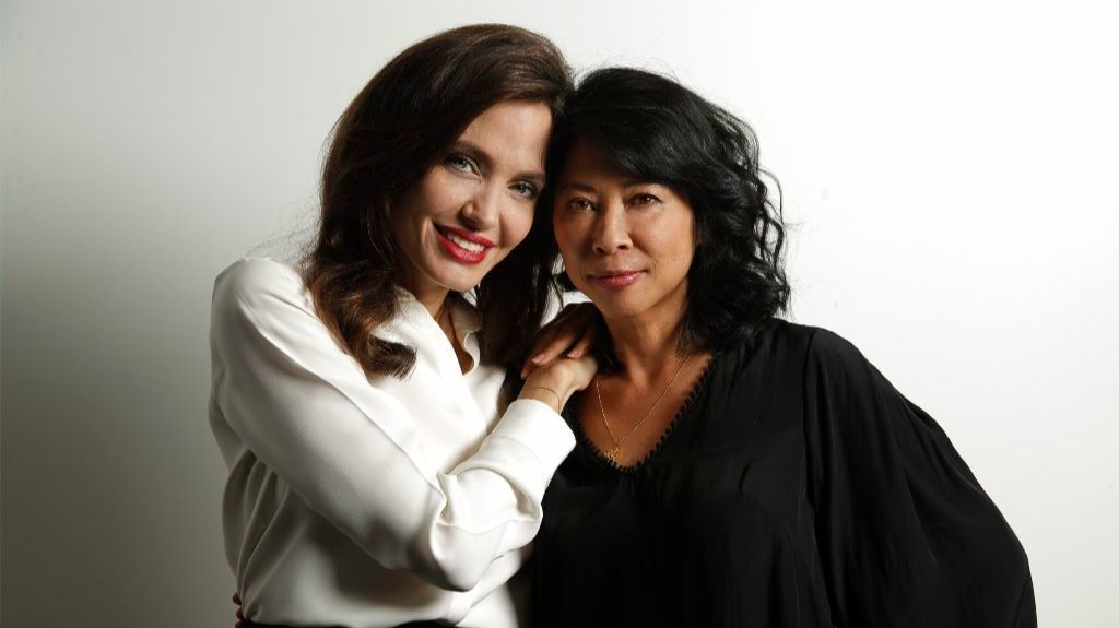 Angelina Jolie And Loung Ung S First They Killed My