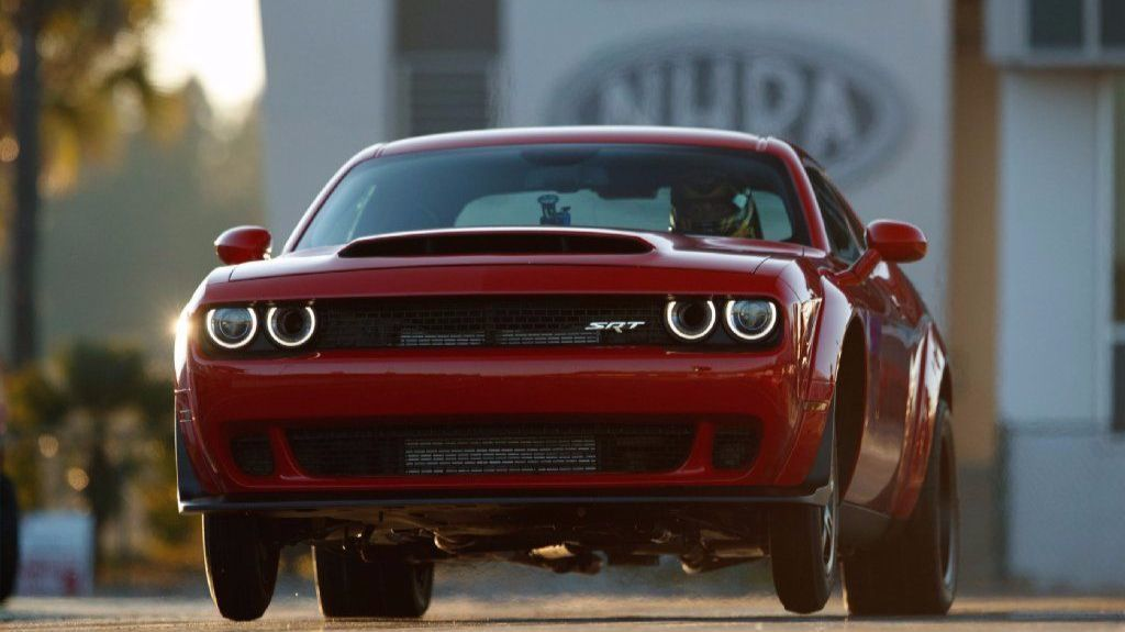 What It S Like Driving The Dodge Demon The World S Fastest