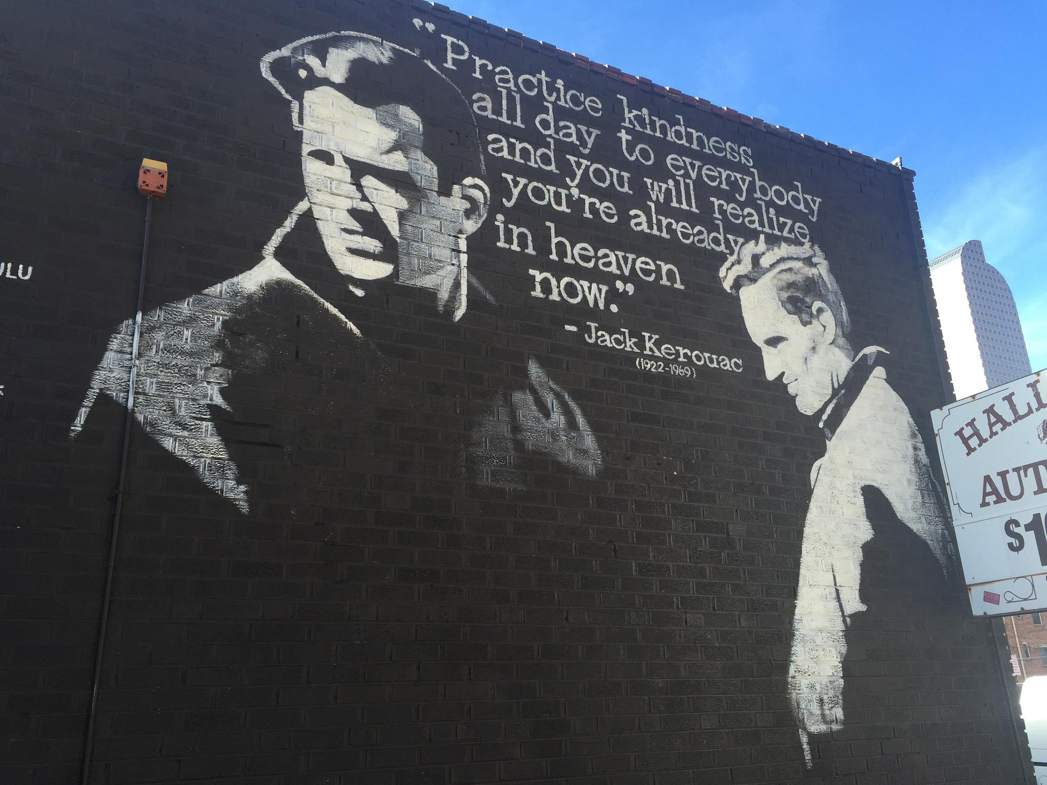 Jack Kerouac mural