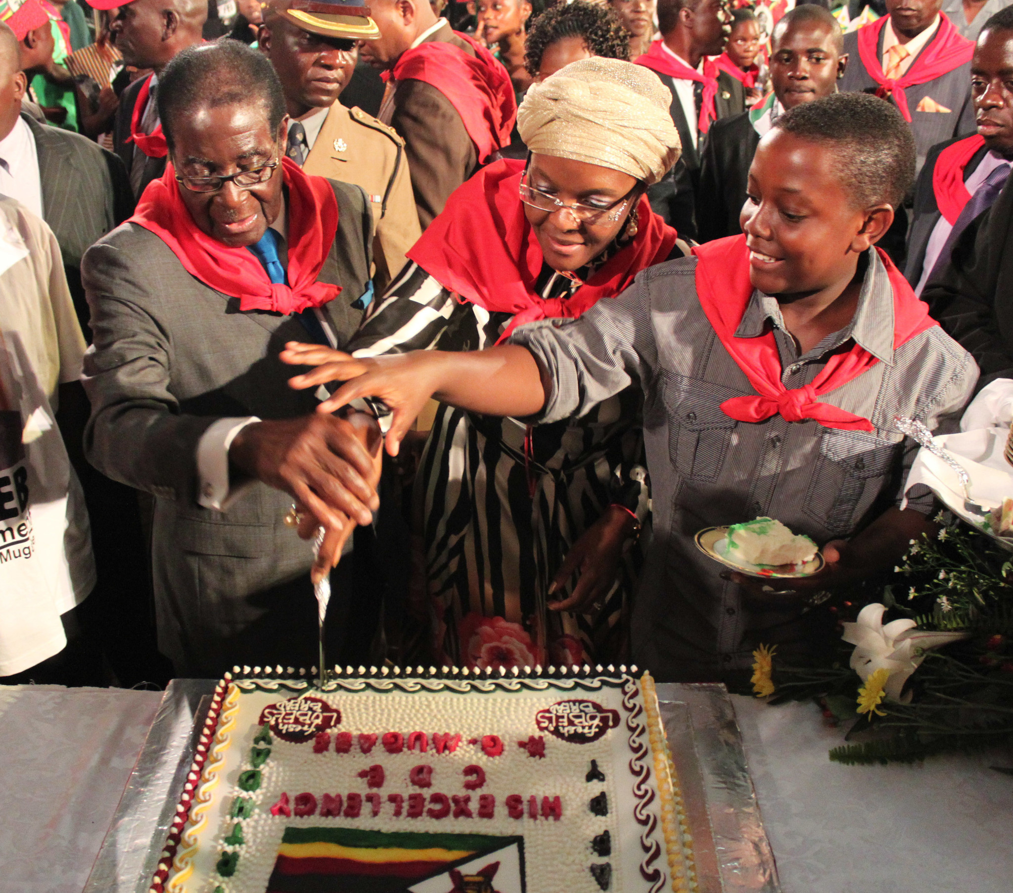 Robert Mugabe Celebrates 87th Birthday In Harare