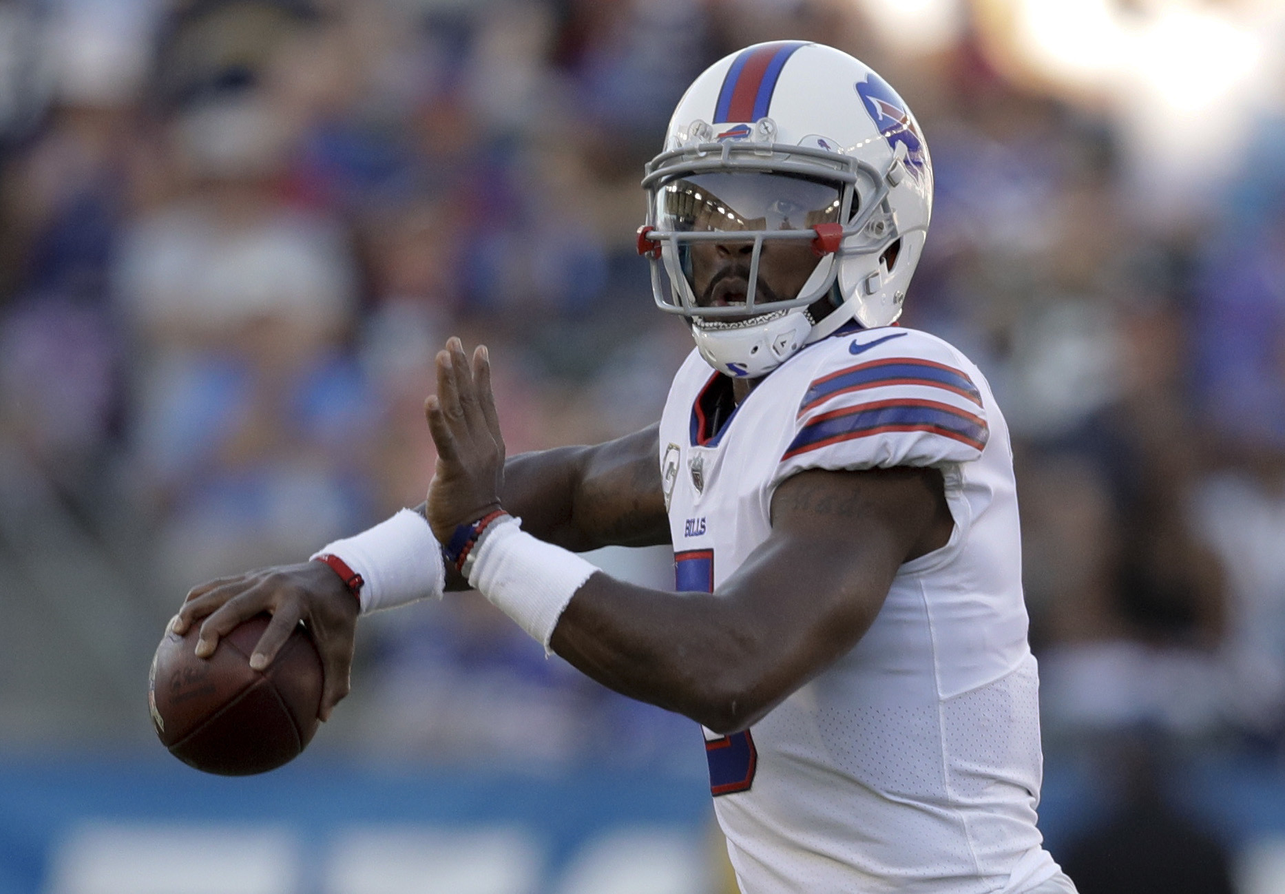 Bills benching Tyrod Taylor for rookie Nathan Peterman was ...