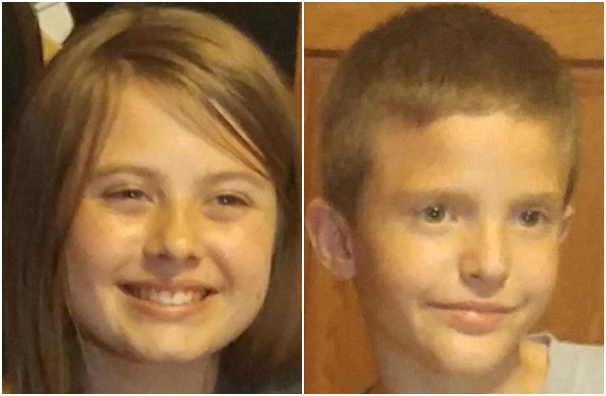 Police Boy And Girl 10 And 13 Found After Being