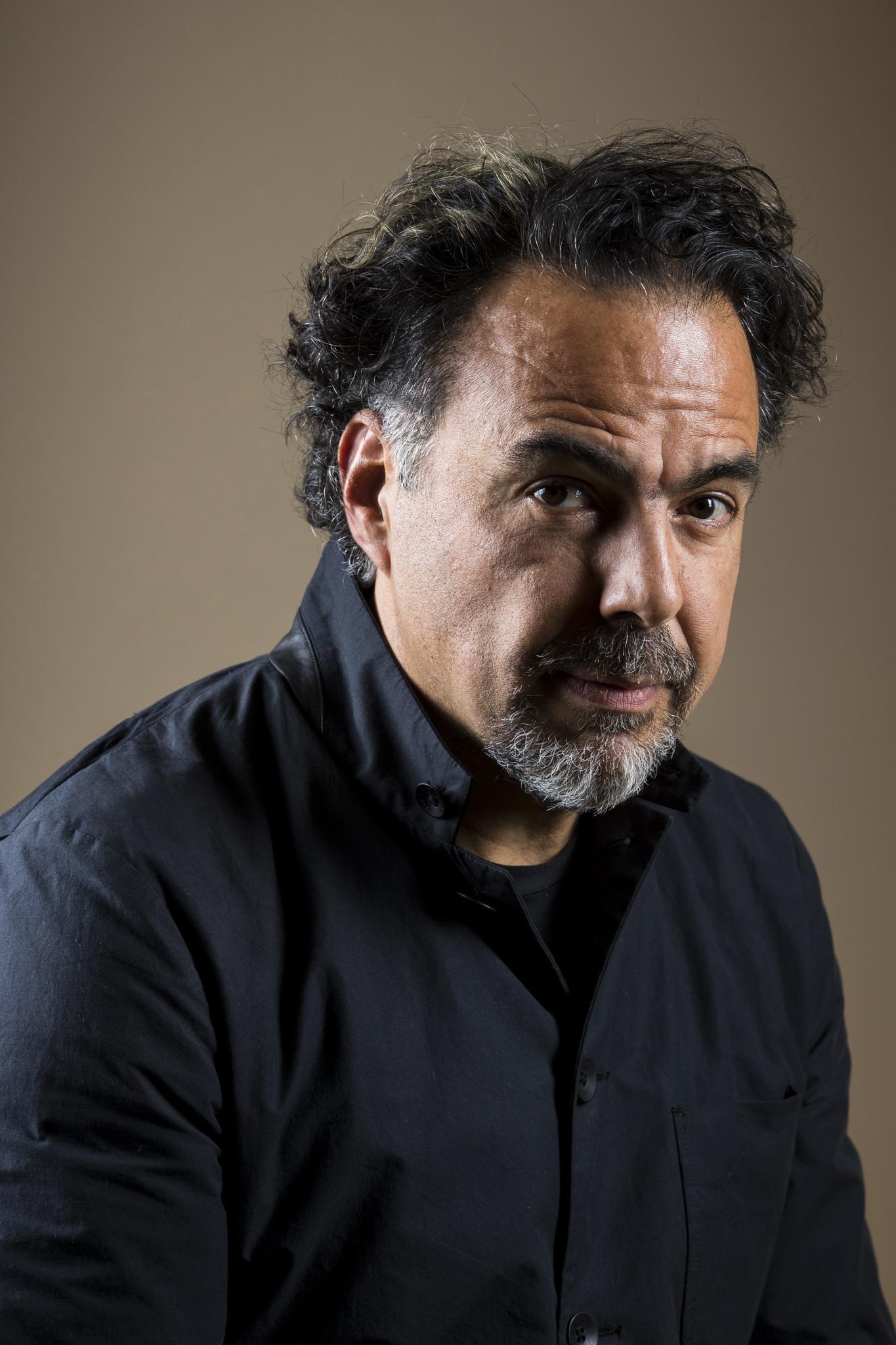 LOS ANGELES, CA - NOVEMBER 20: Academy Award-winning Director Alejandro Inarritu poses for a portrai