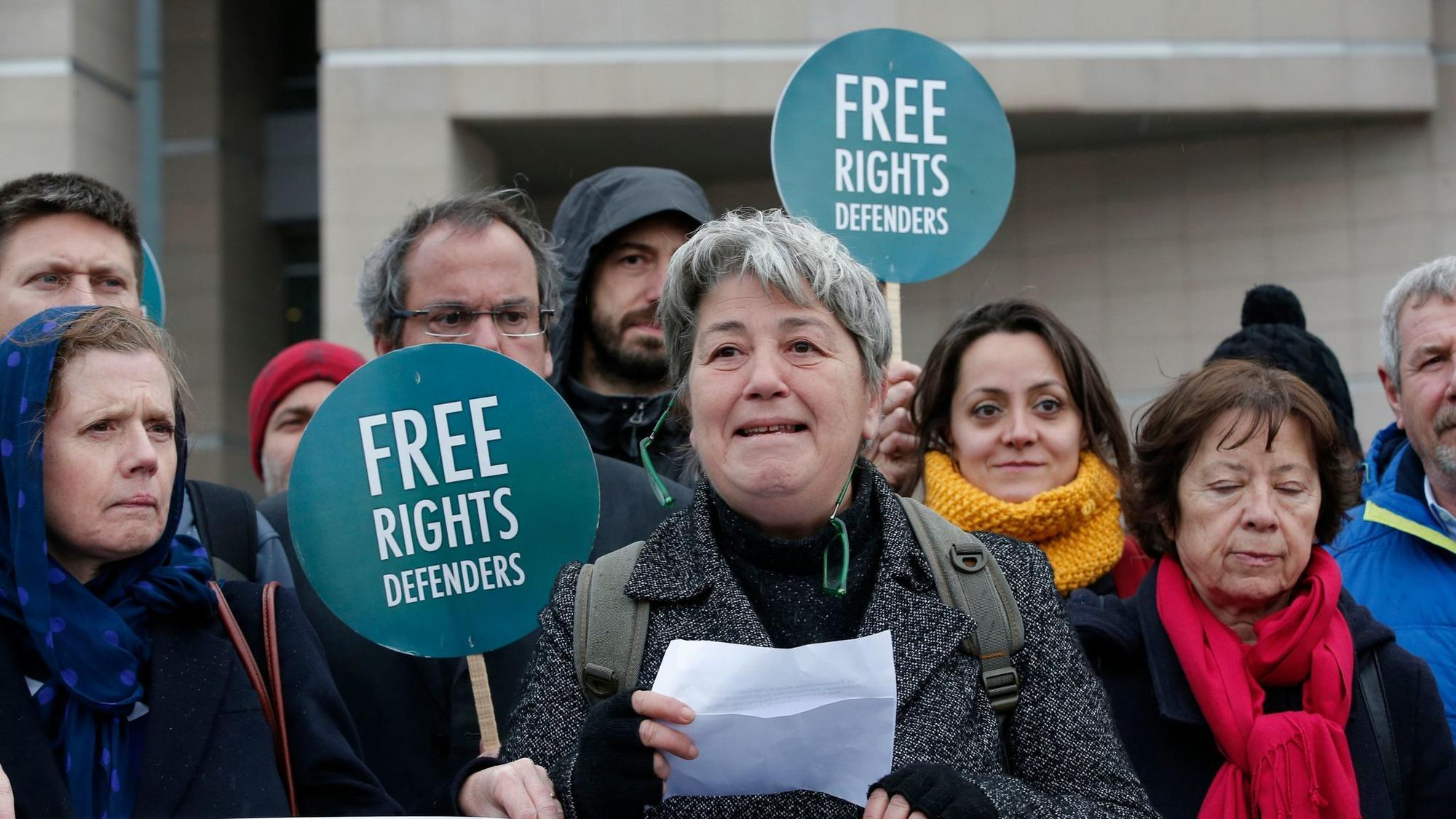 Eleven human rights activists going on trial in Turkey