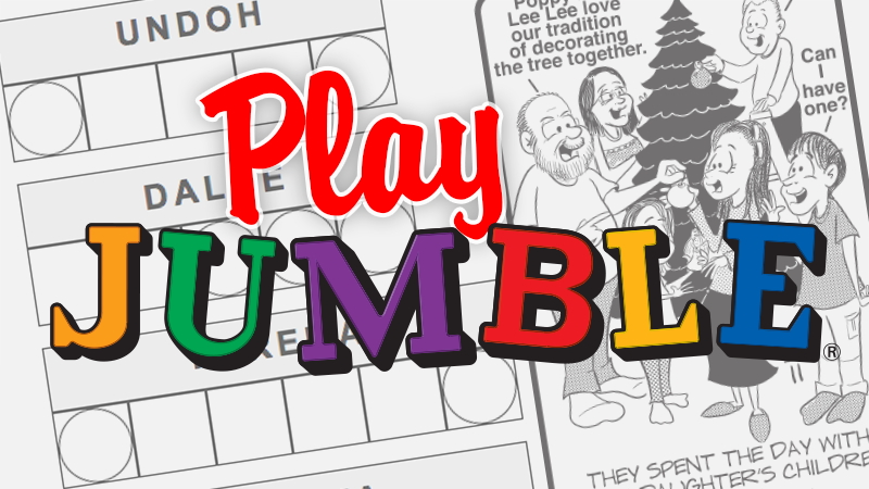 Jumble Daily Puzzles Chicago Tribune