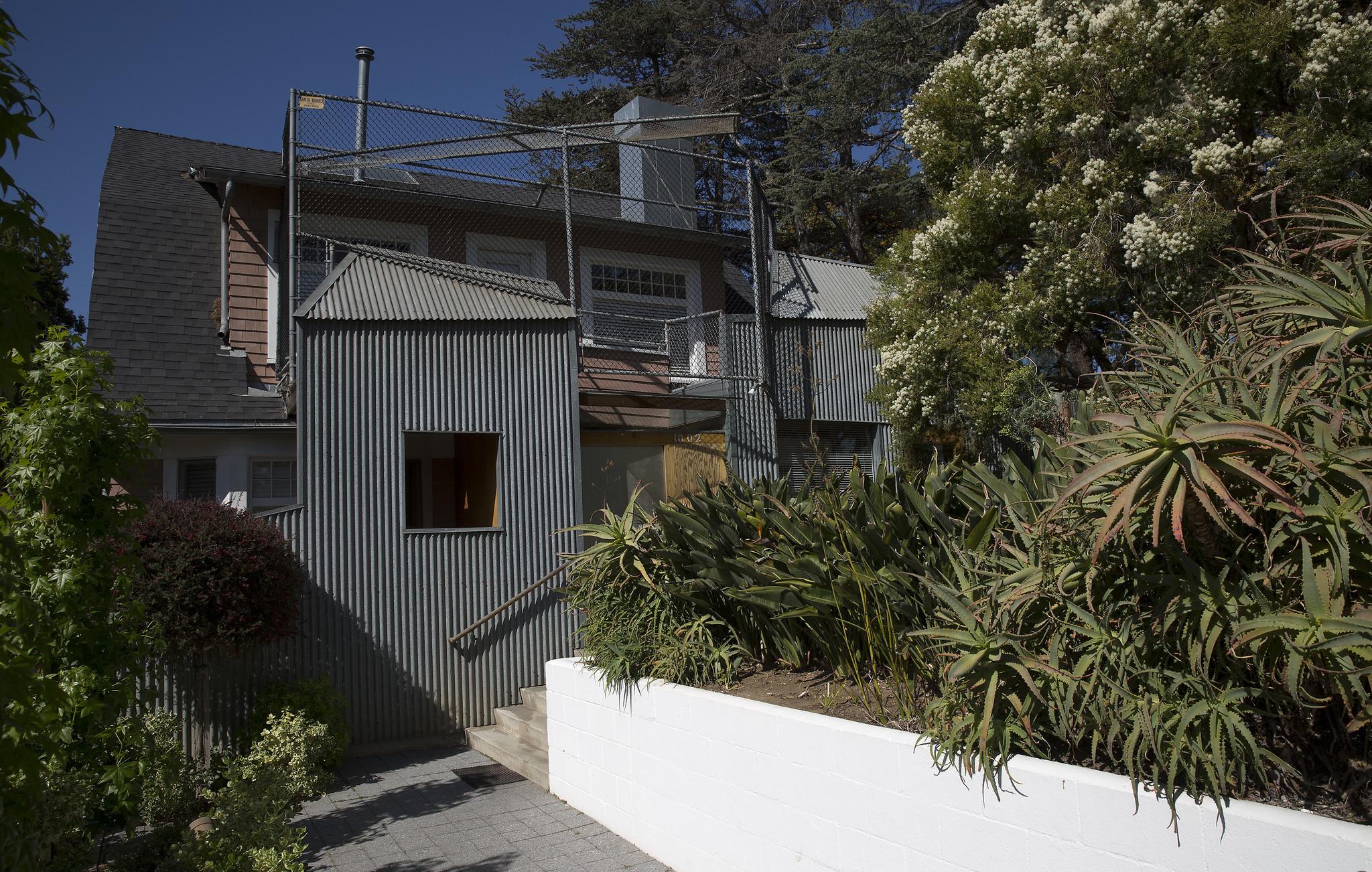 SANTA MONICA, CALIF. — TUESDAY, APRIL 19, 2016: Frank Gehry house, a Santa Monica residence he desi