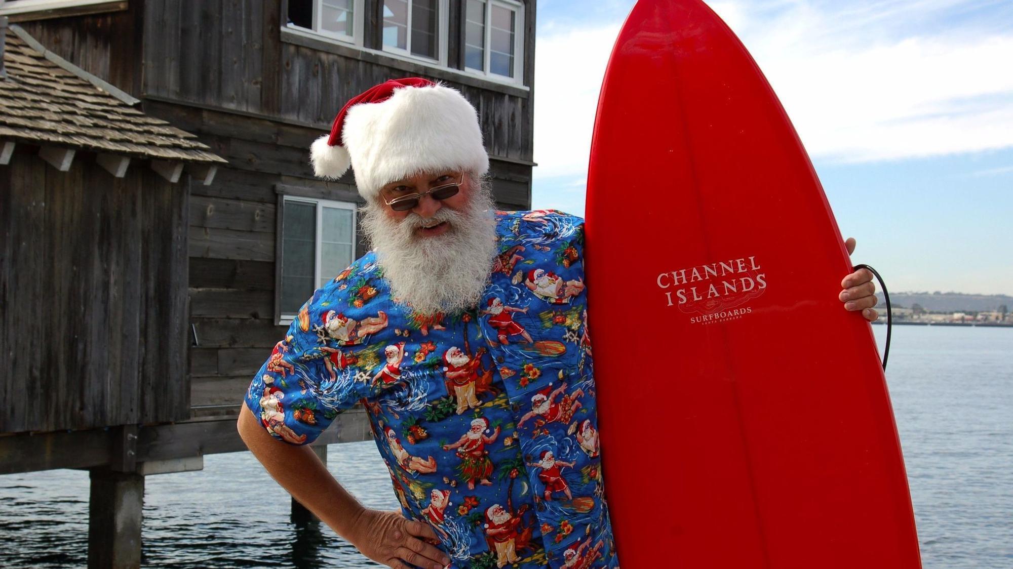 Santa Claus Is Surfin To Town The San Diego Union Tribune