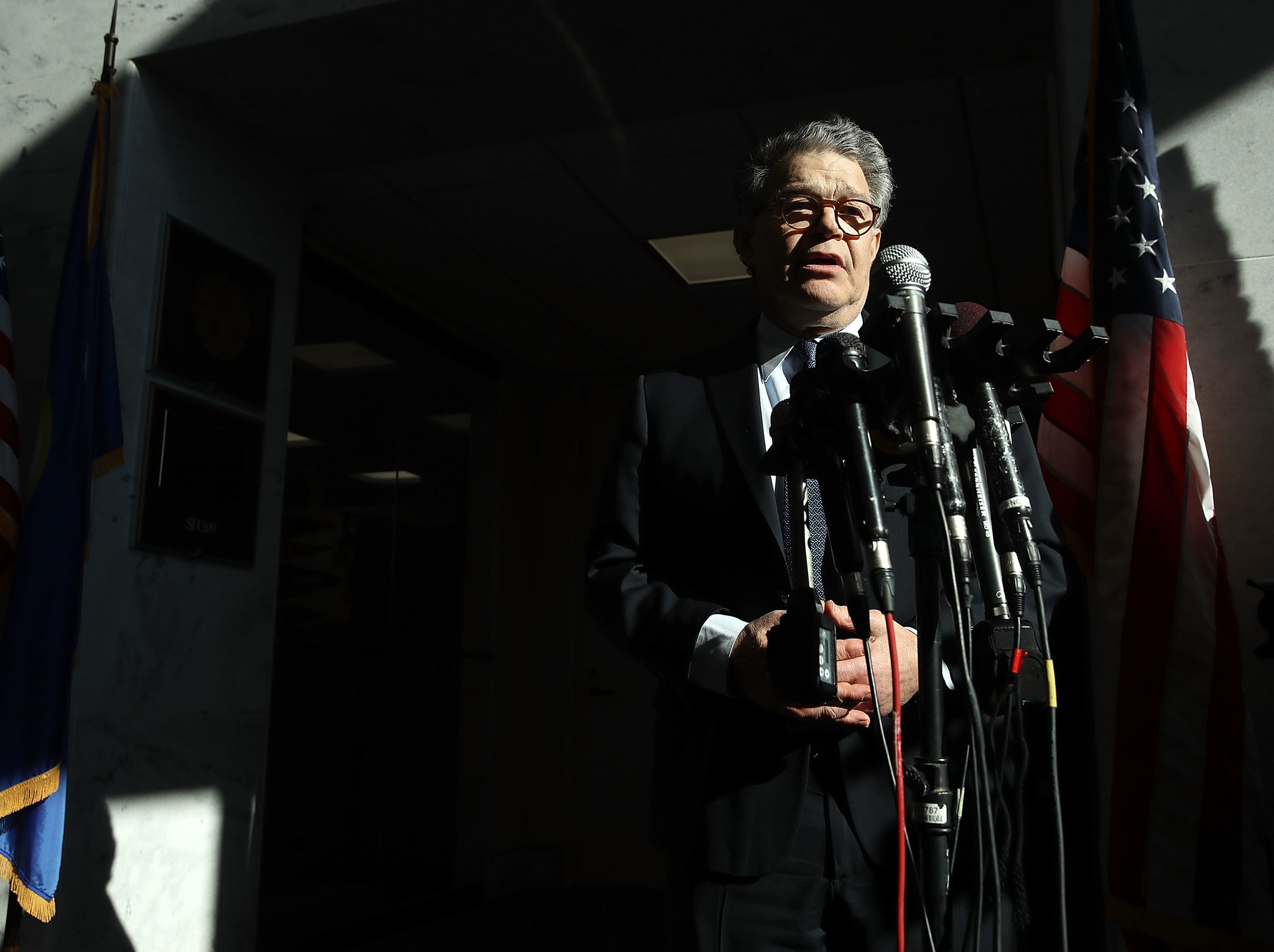 Sen. Franken says he let 'a lot of people down' with his behavior