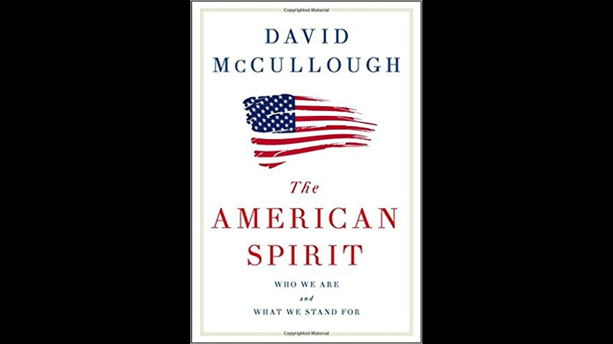 """""""The American Spirit: Who We Are and What We Stand For"""" - Carroll County  Times"""