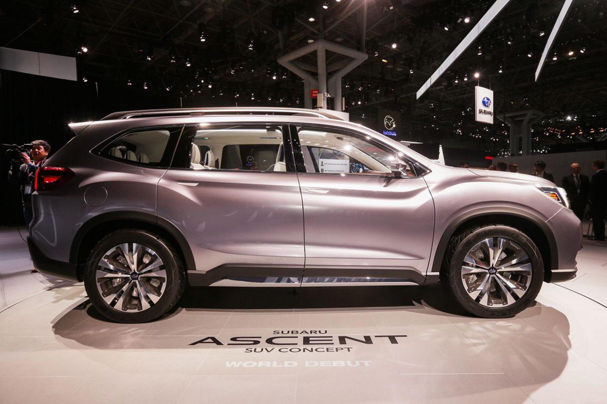 Subaru Poised To Surp Hyundai With Ascent Suv