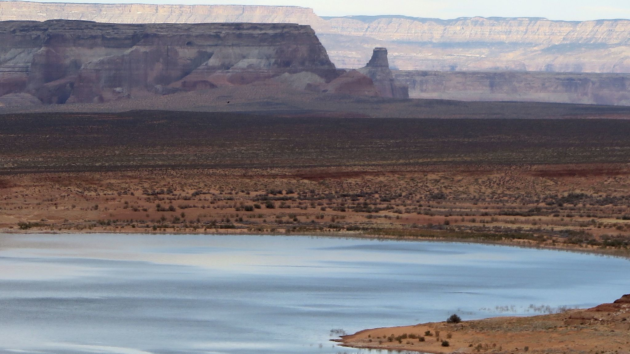 Lake Powell, the nation's second-largest reservoir, is a little more than half-full.