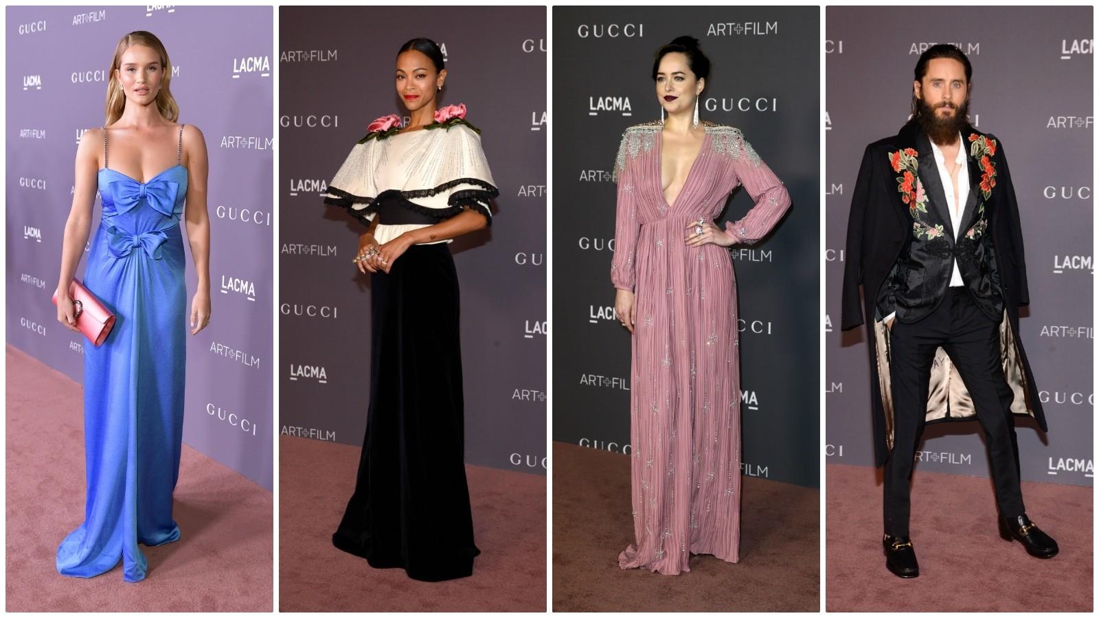 Gucci at the 2017 LACMA Art + Film Gala