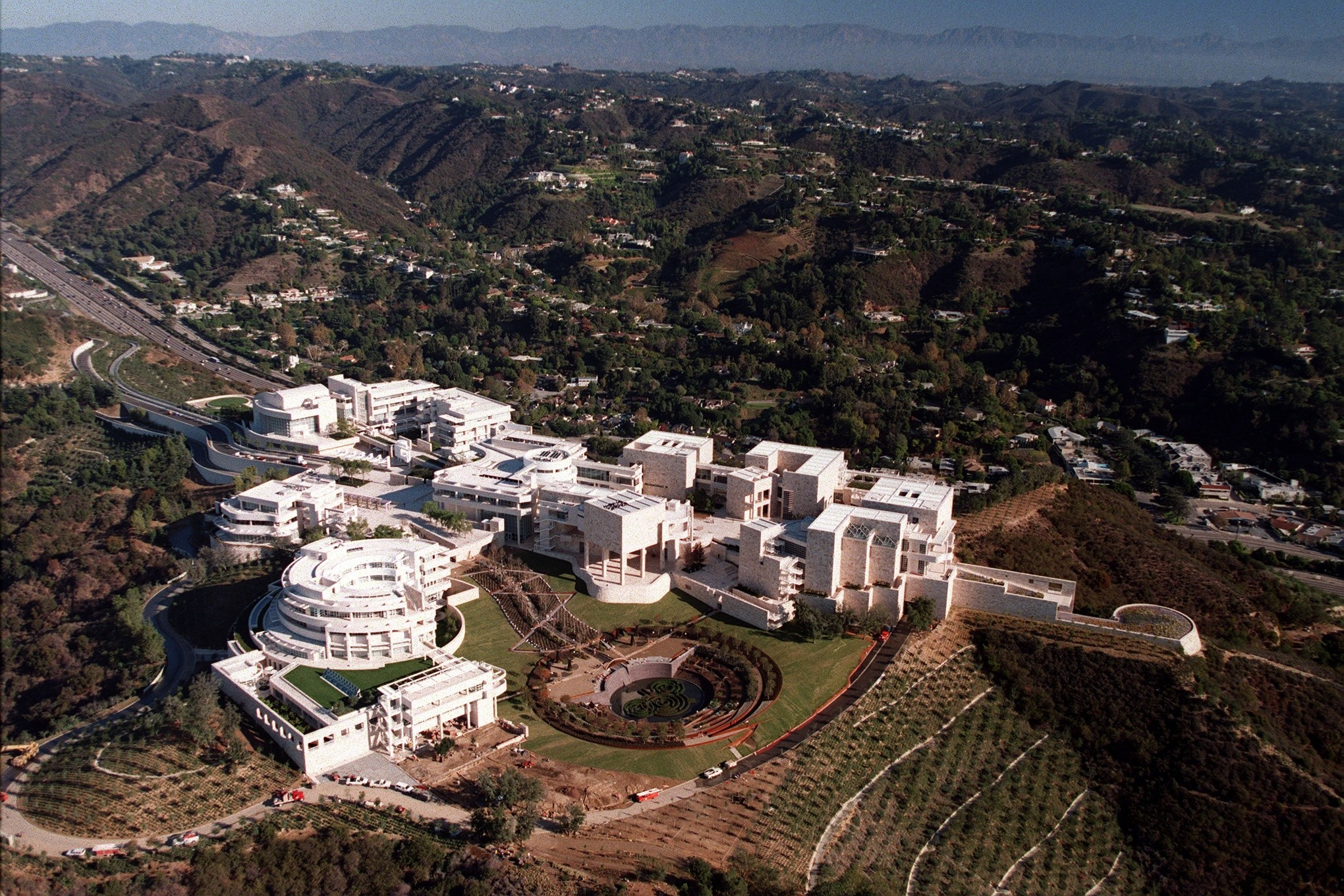 Richard Meier on the Getty Center as it turns 20 - Los Angeles Times