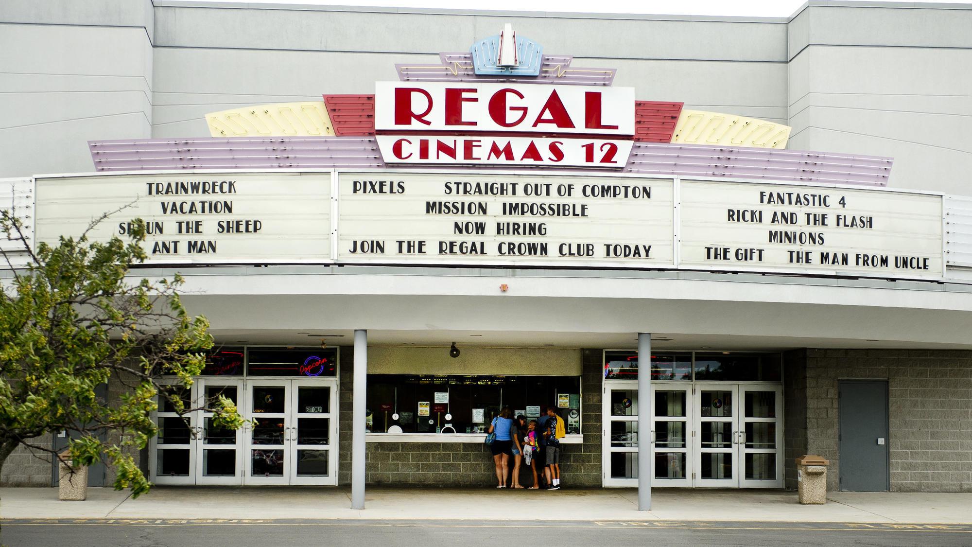 Movies for regal cinemas / Seiko pulsar