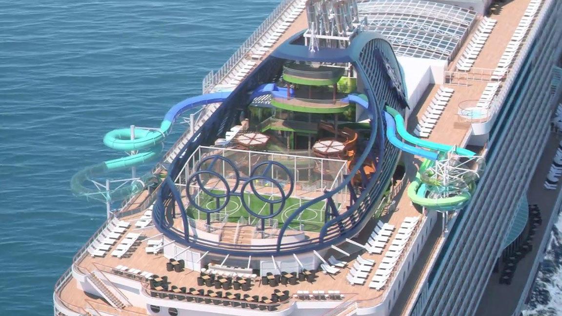 New Cruise Ship Msc Seaside Set For Miami Debut Orlando