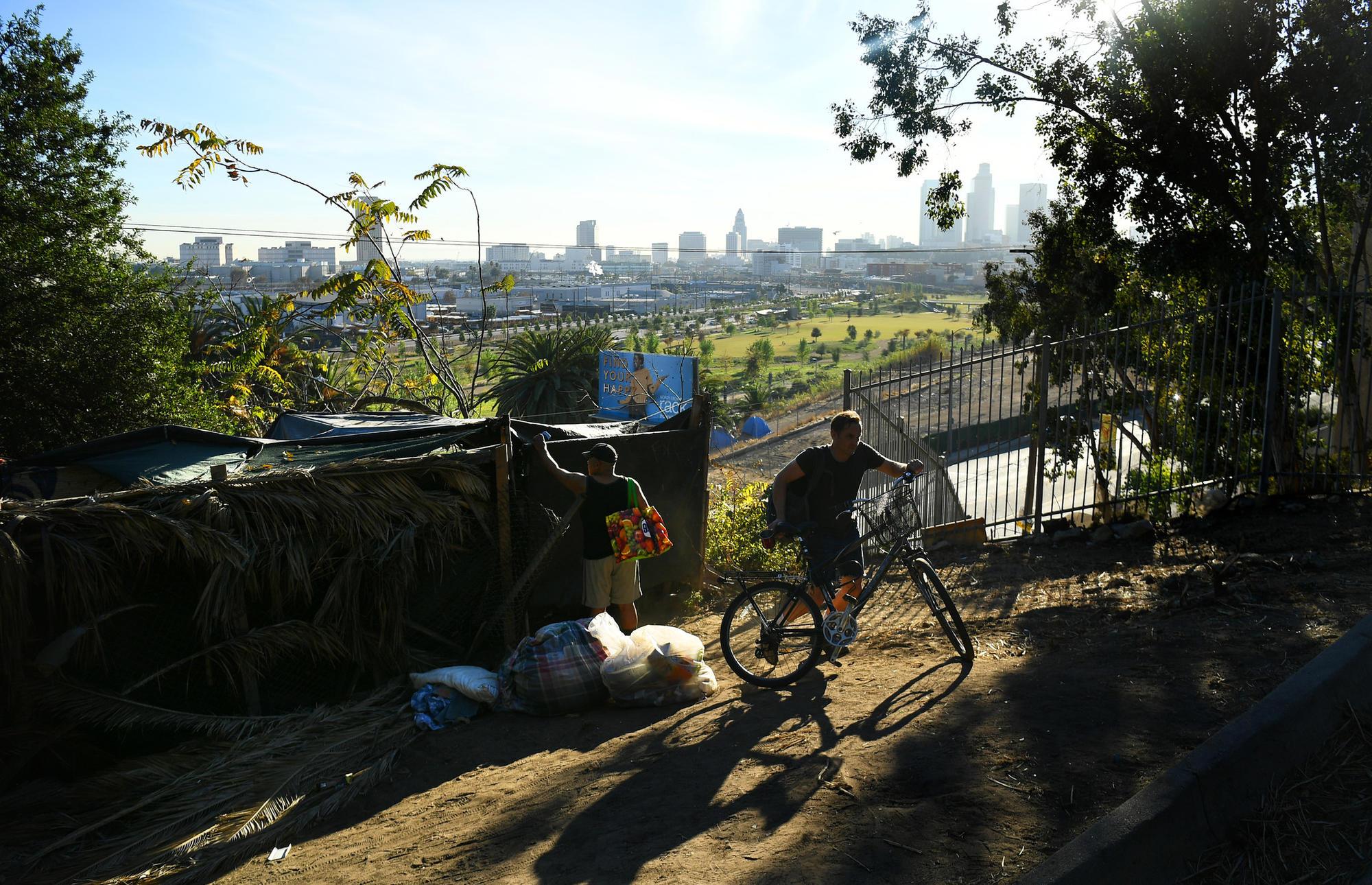 Homeless in Elysian Park