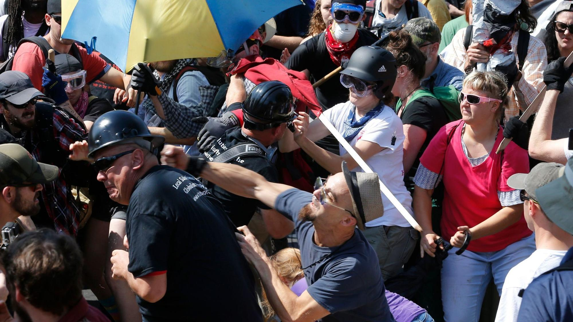 Law enforcement failed at Charlottesville rally, report says