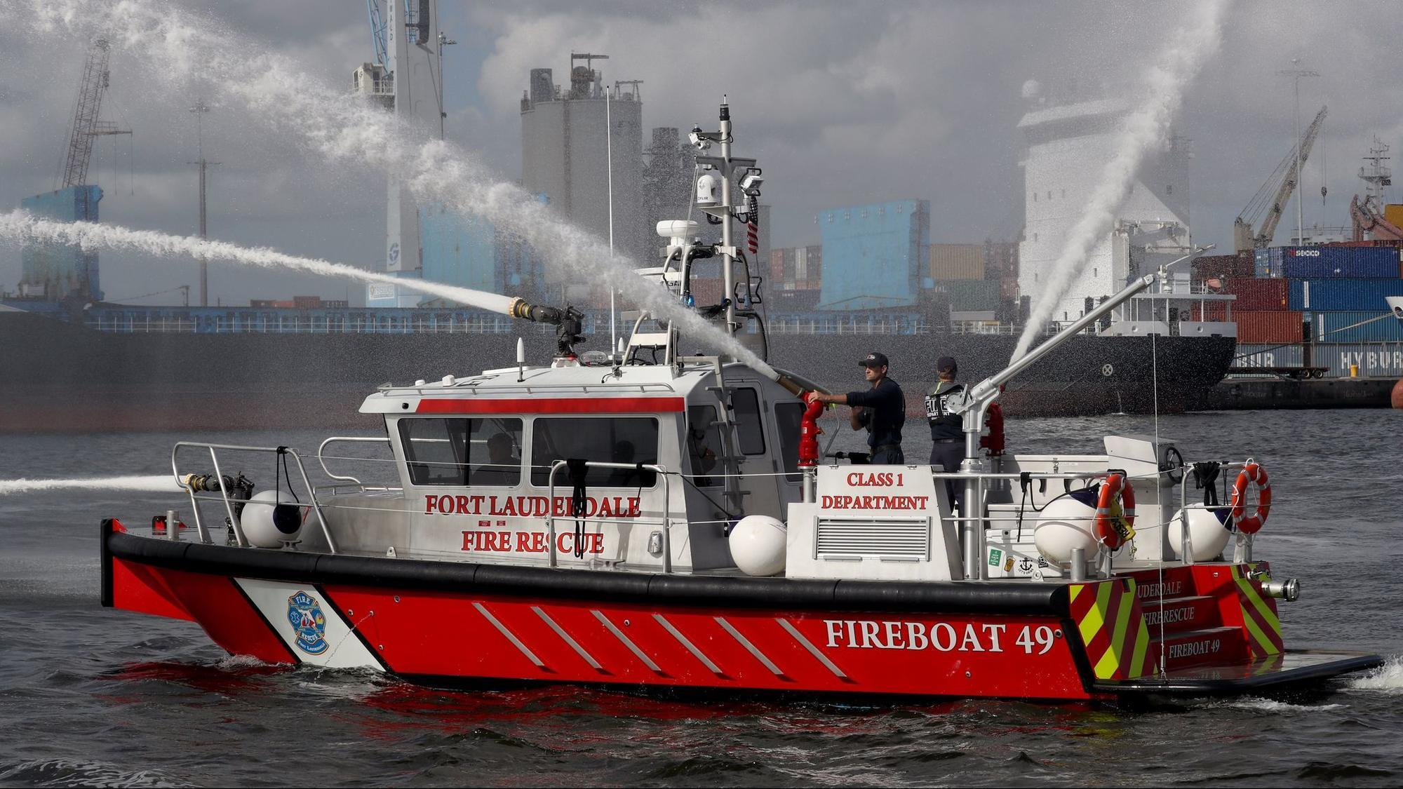 Fort Lauderdale Upgrades Its Water Response With Fireboat
