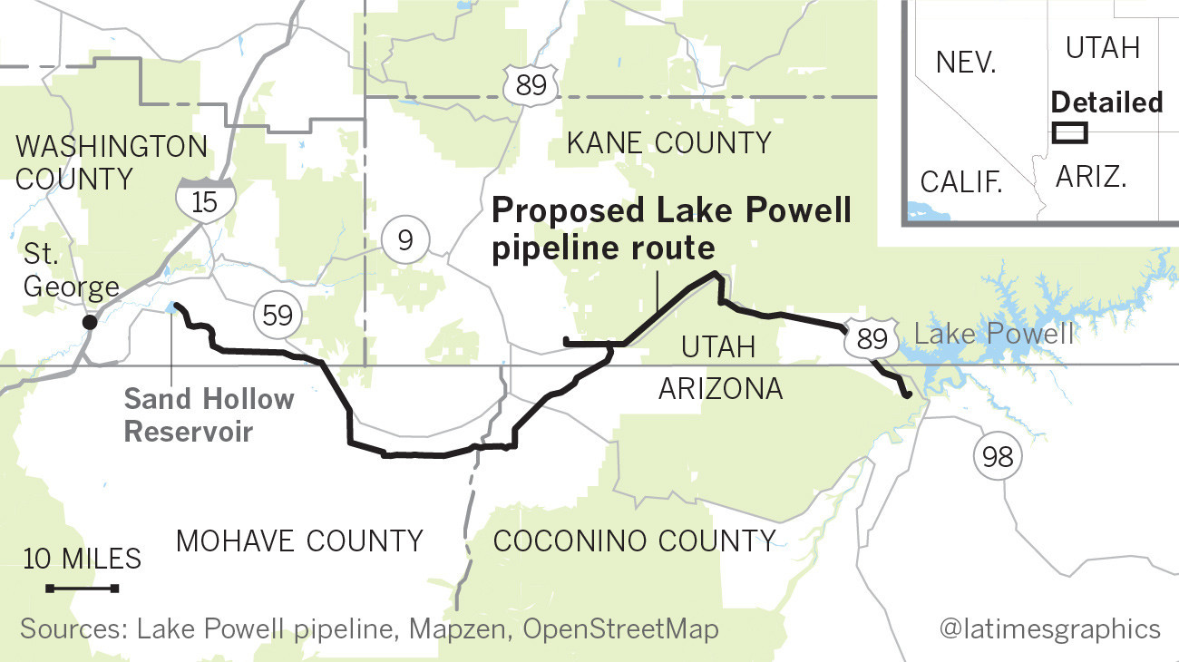 A County In Utah Wants To Suck 77 Million Gallons A Day Out Of Lake